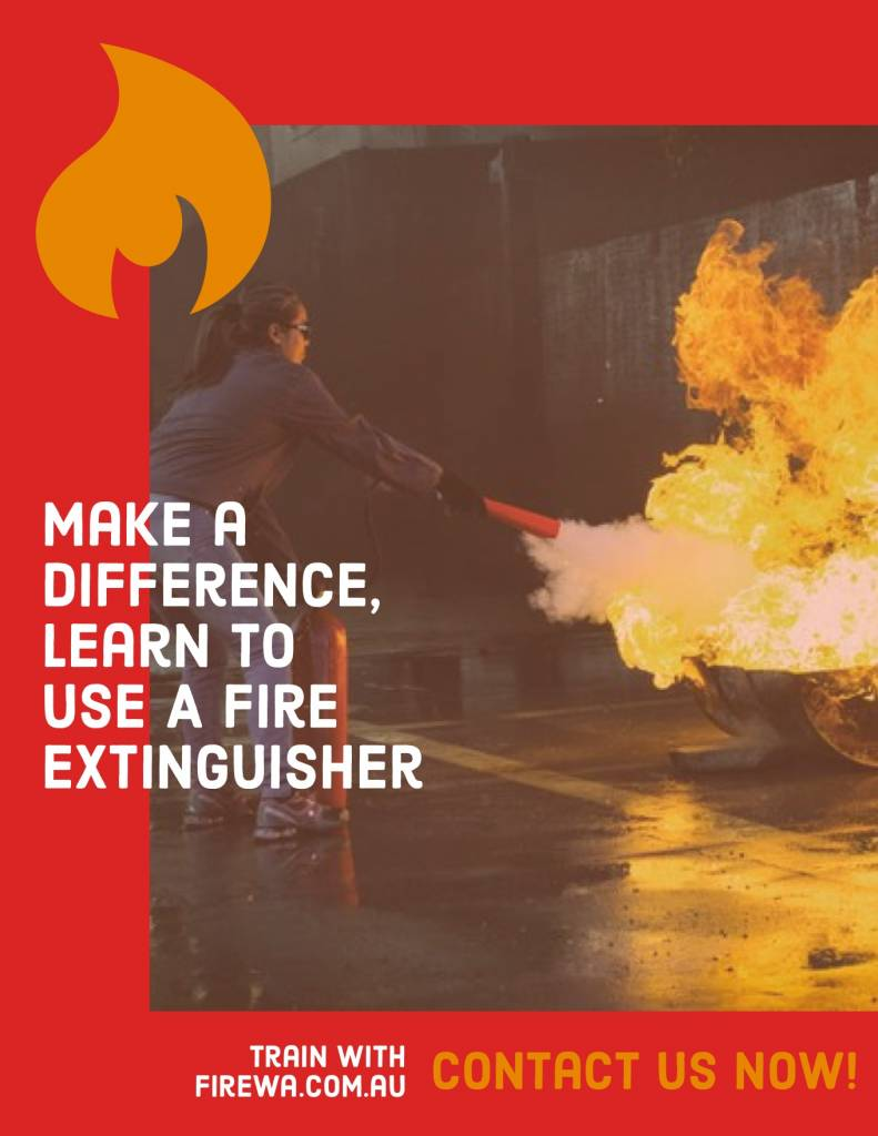 Fire Extinguisher Training: Contact Fire WA today!