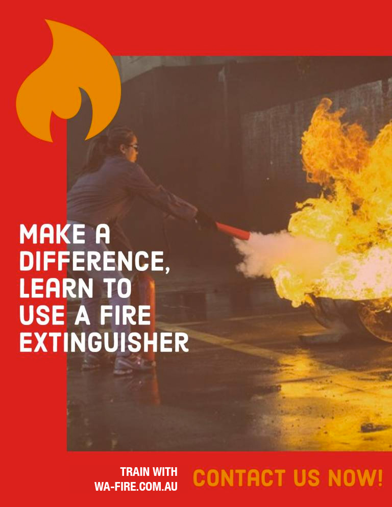 Fire Extinguisher Training: Contact WA Fire today!