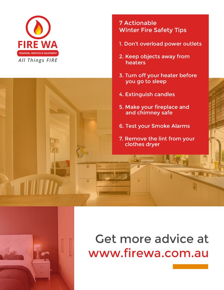 Winter Fire Safety: 7 Actionable tips from www.firewa.com.au