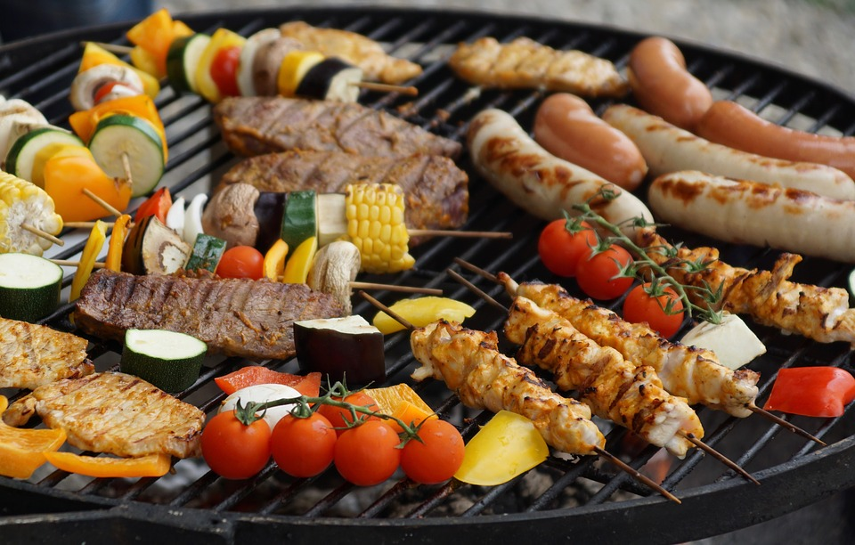 A photo of a barbecue